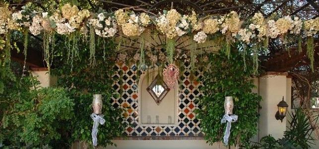 Zaplanuj miejsca, w których chcesz rozmieścić kwiaty