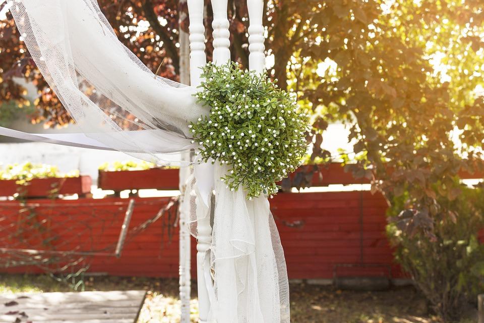 Dekoracja sali weselnej, źródło: pixabay.com