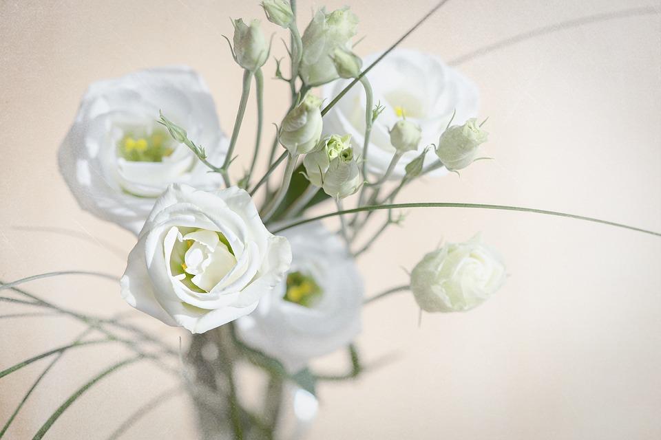 Kwiaty na ślub w styczniu