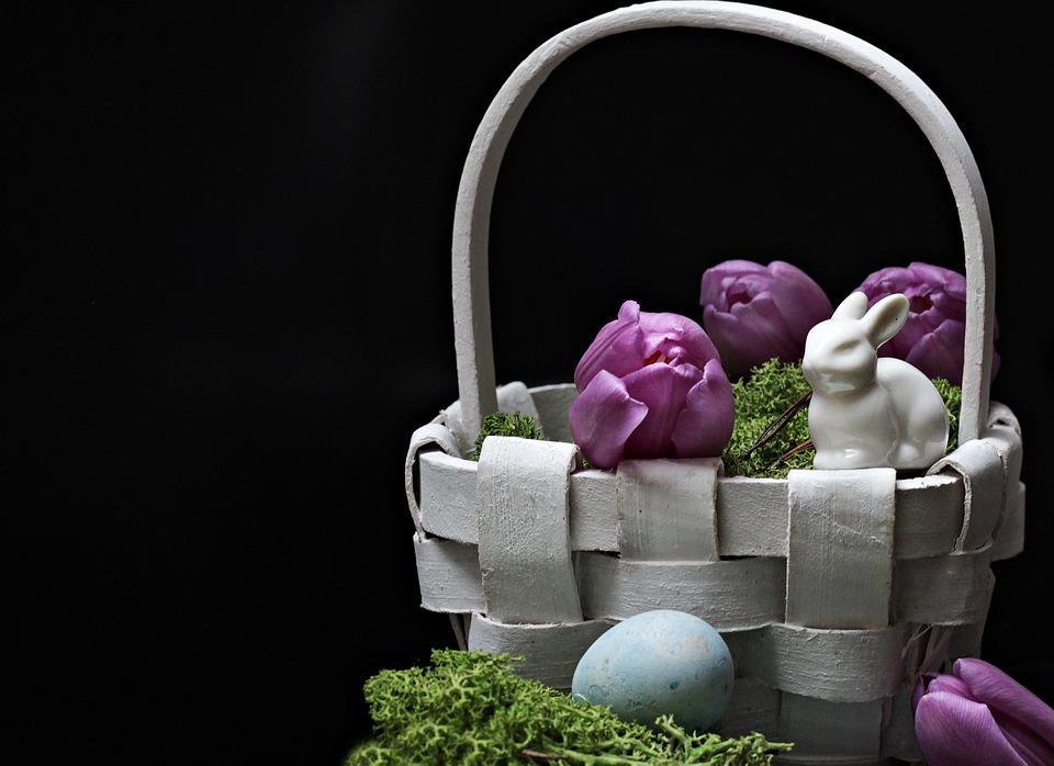 Kwiaty na Wielkanoc, źródło: pixabay.com