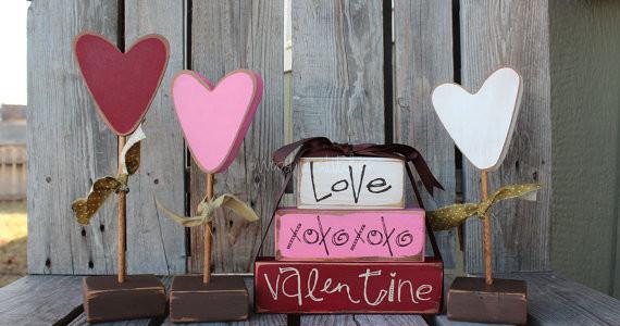 Walentynkowe prezenty / źródło : www.etsy.com