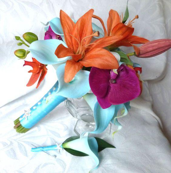 Tropikalny bukiet / źródło: www.etsy.com