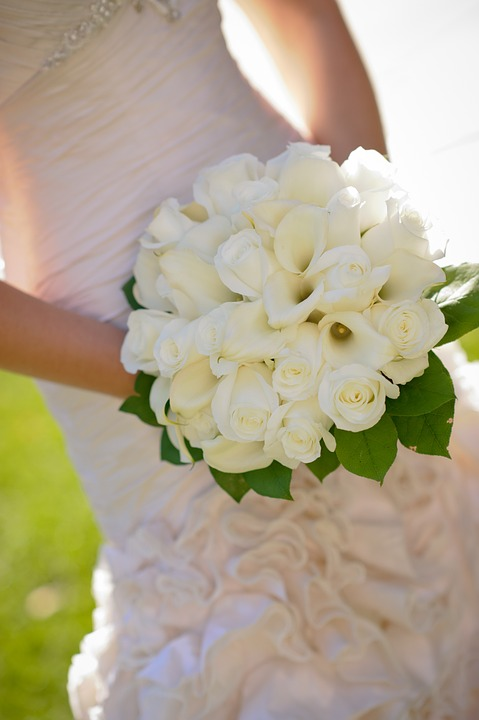 Kwiaty na ślub - źródło: pixabay.com