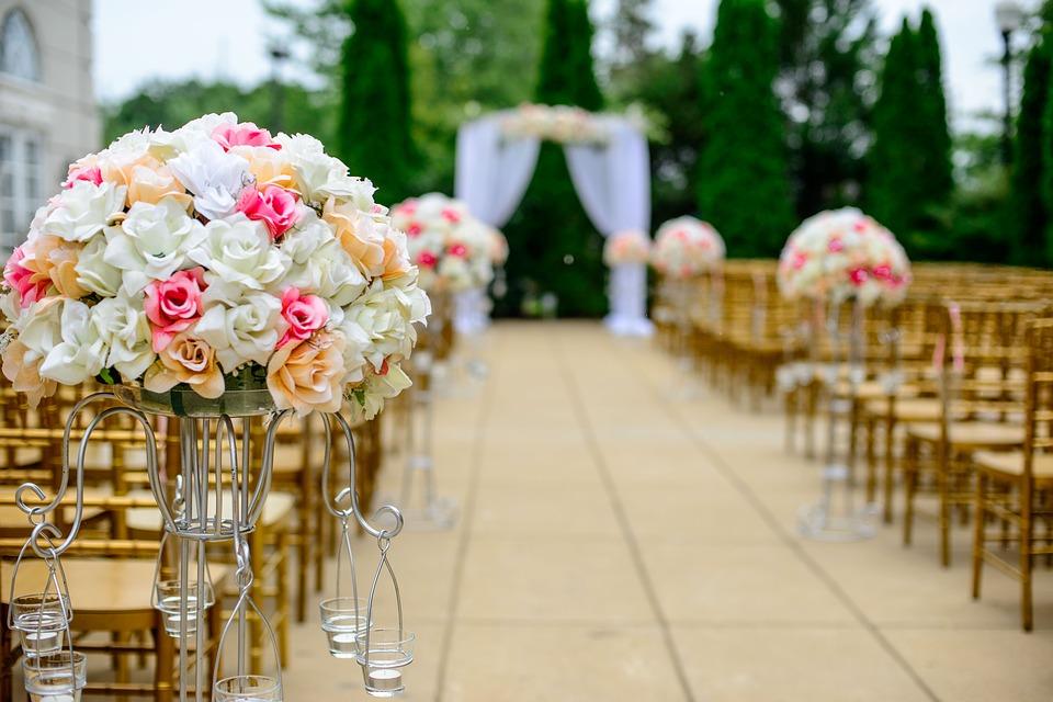 Jesienne kolory na ślubie