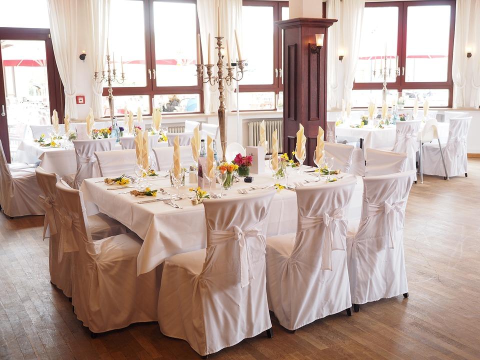 Sala weselna, źródło: pixabay.com