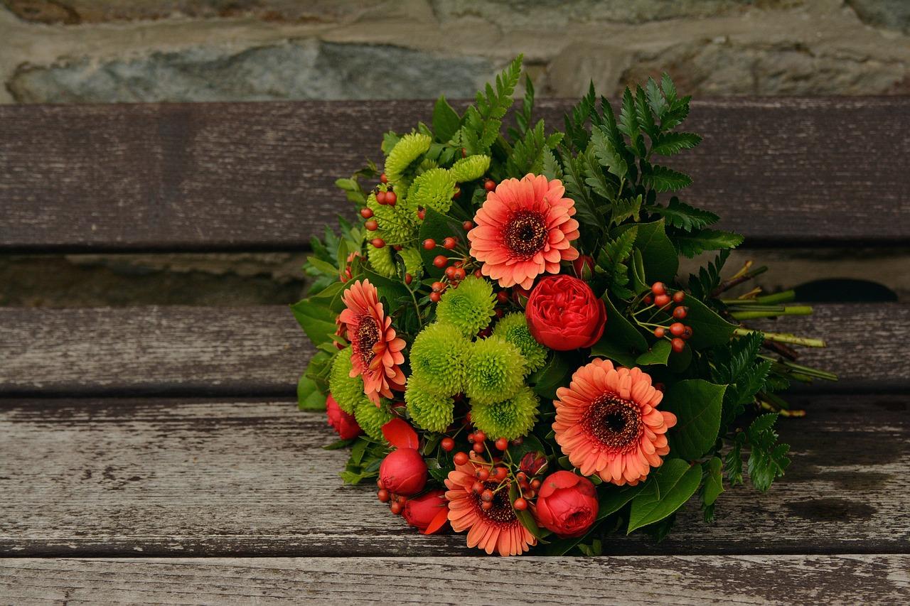 Jesienne kwiaty